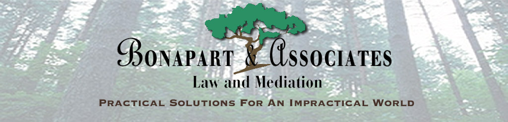 Bonapart & Associates Law and Mediation: Practical Solutions for an Impractical World